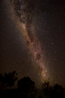 Milky way above Windjana campsite