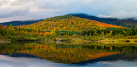 First West Branch Pond, Panorama , Maine